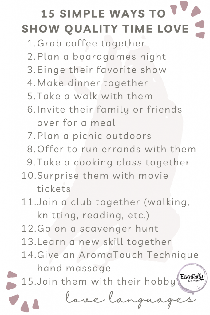 15 simple ways to show quality time love